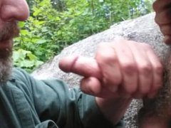 Dad sucks vidz off good  super boy in woods