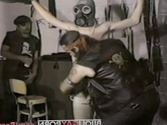 Brutal Bondage/CBT vidz Scene -  super PAIN DOWN BELOW (1983)