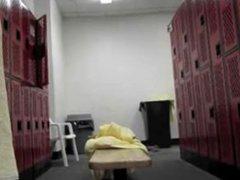 spycam..Blond Dude vidz In The  super Locker Room - 8 min
