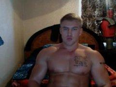Russian famous vidz bodybuilder web-cam  super part3