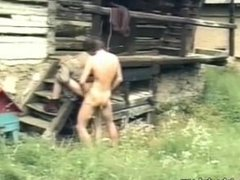 """Longhaired """"monk"""" vidz gets fucked  super by stable boy (fantasy/history vid)."""