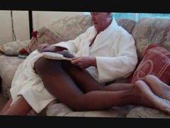 White man vidz spanks black  super boy