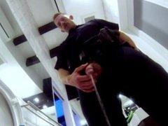Pissing policeman vidz spunked