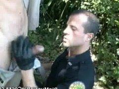 Cock Sucking vidz Muscled Patrol  super Cops