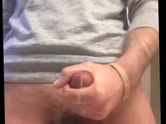 Jerking morning vidz wood cum  super shot