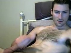 jerkvid fucking vidz gorgeous wanker  super with hairy chest