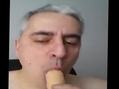 Man sucking vidz cock like  super a crazy until.....