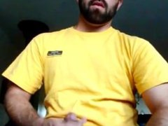 Bearded Hunk vidz Cums for  super Me