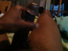 Black dick vidz bustin nutt