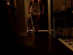 Straight bulging vidz show for  super the delivery guy 01
