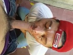 Hot Latino vidz Cum Facial