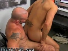 Gay porn vidz boys fuck  super extreme Horny Office Butt Banging