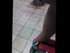 CRAZY public vidz action in  super NYC subway