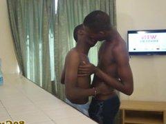 Amateur african vidz barebacking after  super sixtynining