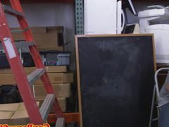 Straight muscle vidz pawnshop employee  super spitroasted