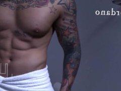 JORDANO SANTORO vidz MUSCLED PORNSTAR  super BIG COCK MASTURBATING EROTIC MEN OF JUDAS