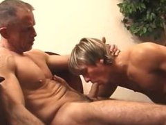 Police man vidz barebacks a  super cute young twink