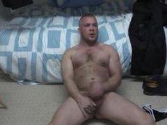 British Prison vidz guard wank