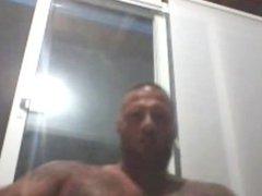 Greek Straight vidz Smoking Weed,  super Webcam Show, CUM!