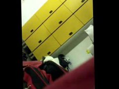 Spy on vidz Boys -  super Wrestler twink caught naked in locker room