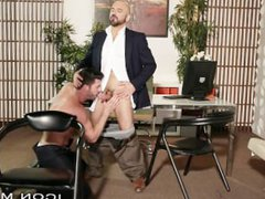 IconMale Young vidz Lawyer Voyeur  super Sees Boss Cum on Another Man