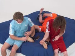 Spike Has vidz Super Ticklish  super Toes and Soles (Feet Tickle Frenzy)