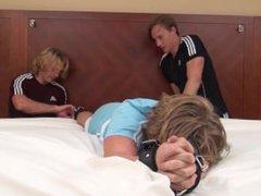 Ticklish Blonde vidz Jock Tickled!