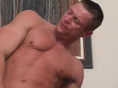Bodybuilders Bareback vidz Scene 1