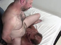 Gay grandpas vidz are horny  super to fuck each other