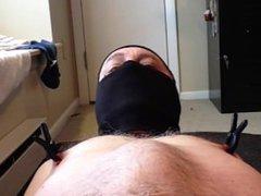 Fat Brad vidz closeup big  super dildo ass fuck