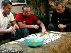Guys play vidz striptease monopoly