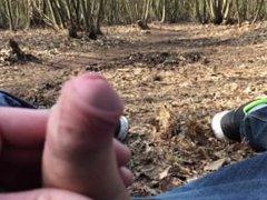 flashing my vidz penis in  super public