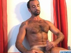 Full video: vidz A innocent  super mature guy gets serviced his big cock by a guy!