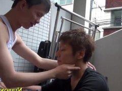 Asian teens vidz giving head