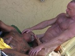 Daddy Bears vidz Bo Banger  super and Mickey Collins Fuck Outdoors