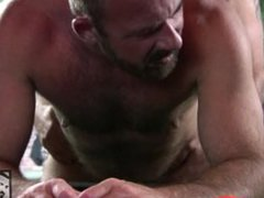 Hot Daddy vidz Bears Fuck  super on the Pooltable