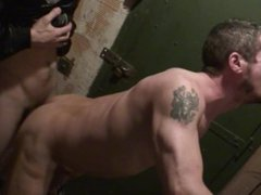 ERIC'S RAW vidz FUCK TAPES#2  super - SCENE 1 - LOADED WITH CUM BY A THUG IN A BASEMENT