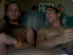 Some Buds vidz watching a  super little porn