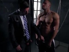 Hot handsome vidz hunk fucks  super the daddy businessman