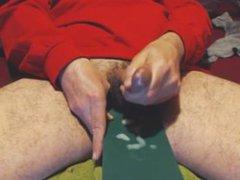 No. 153 vidz - I  super Cum with The Man-Handler in Bed [3-14-14 AM]