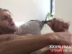 Tristan Flip vidz Jizzes in  super his Pants Parody
