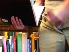 College Guy vidz Cums In  super Library