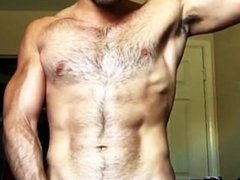 Hairy Muscle vidz Tease