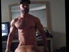 Latin muscle vidz jock cums  super in me