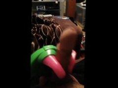 Hot English vidz dude performs  super bizarre acts upon himself with special bonus!