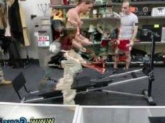 Big black vidz men gay  super blowjob movies Fitness trainer gets assfuck banged