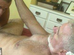 Hung Daddy vidz Fucks His  super Freshly Shaved Boy
