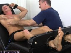 Foot fetish vidz in indian  super gay movie Cristian Tickled In The Tickle Chair