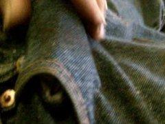 Strokes & vidz Squeezes causes  super emission of semen, breaking in new 501s