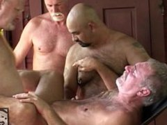 Daddy Bear vidz Outdoor Orgy
